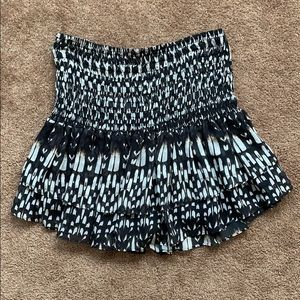 Townsen Silk Mini Skirt